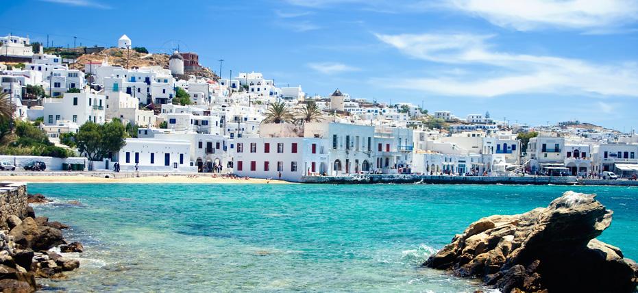 Isla griega de Mykonos