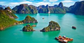 Las mil islas de la bahía de Halong