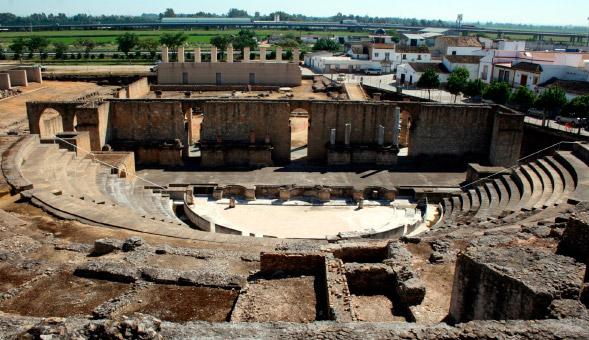 Ruinas romanas de Itálica