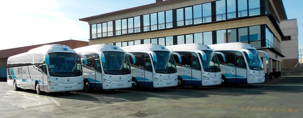 Servicios de transporte más comunes