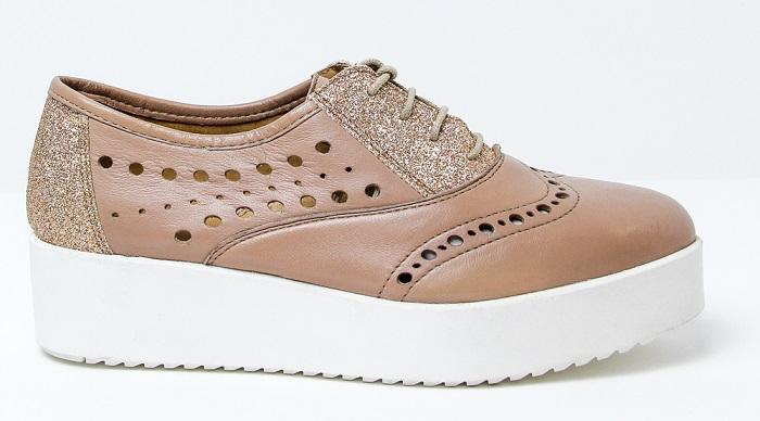 Zapatos flatform Pan Project