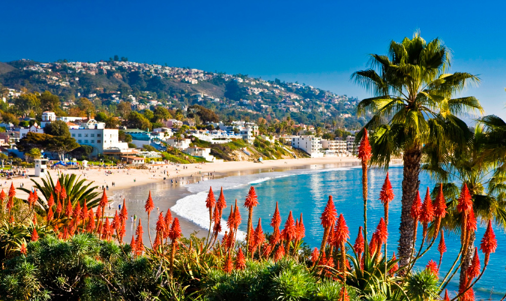 Mejores viajes de novios: California